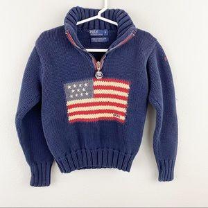 Polo Ralph Lauren • Flag Sweater